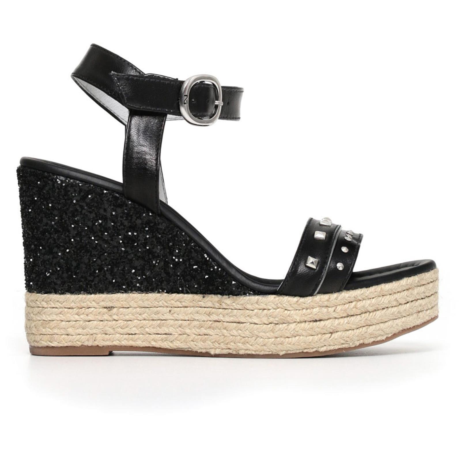 Sandali scarpe Nero Giardini Fashion donna nero P805890D 100 listino €  119 ec6a18db771