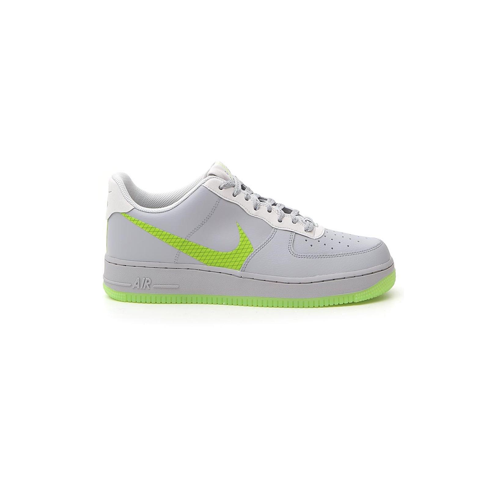 Dettagli su Scarpe scarpette Nike Air Force 1 07 LV8 3 CD0888002 grigioverde listino € 115