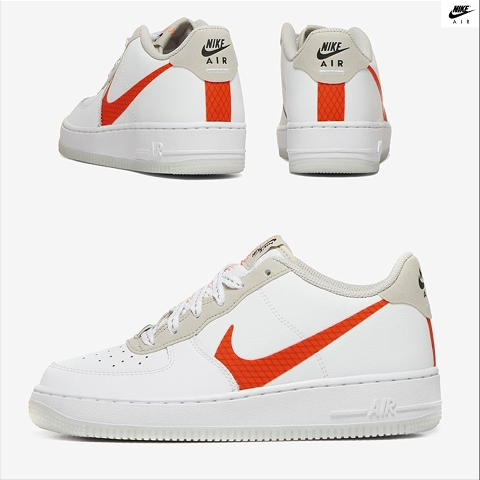 nike air force 1 uomo arancio