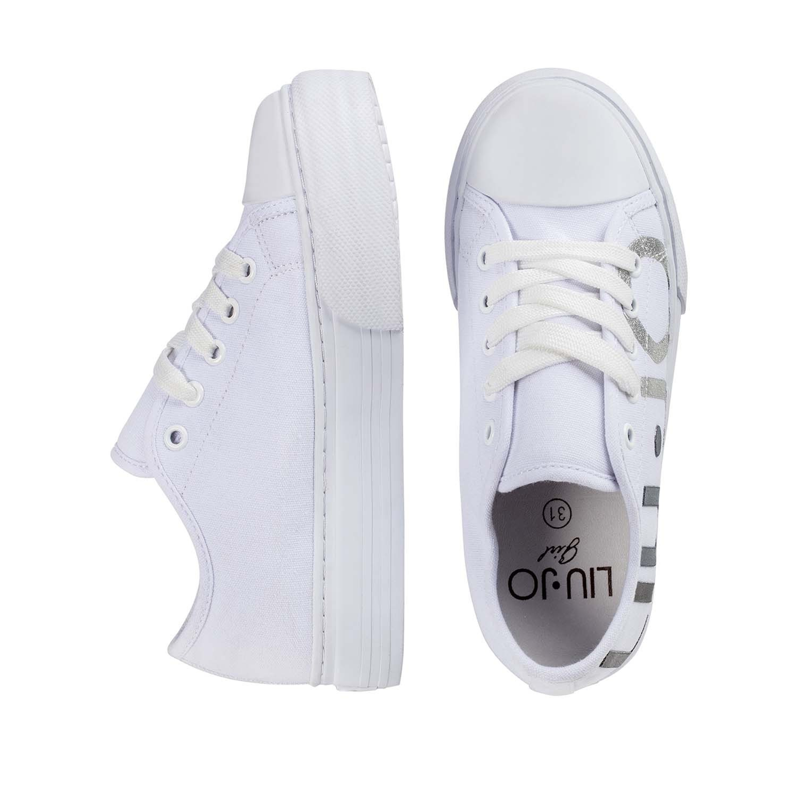 Scarpe sneaker Liu Jo donna 20251 colore bianco dal 36-40 listino € 89 5f865497a87