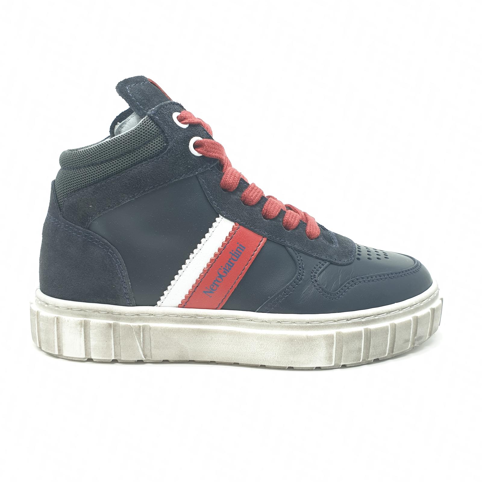 Scarpe sneakers Nero Giardini A933650M201 blu dal 31 al 38