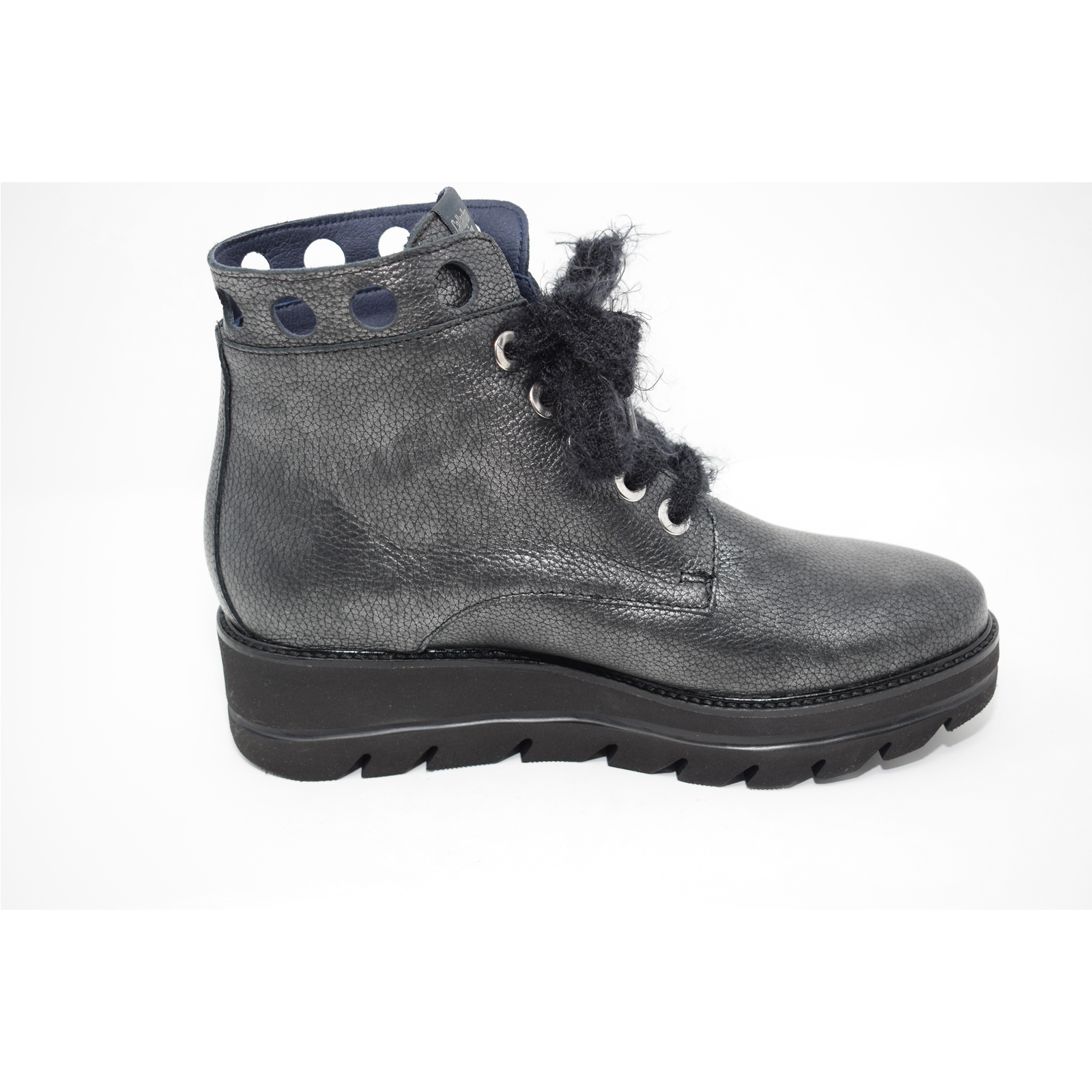 newest 49fe5 2e094 Dettagli su Scarponcini scarpe Callaghan donna 14807 colore antracite  listino € 145,00